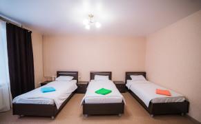 Гостиница Хостел Крылья Койко-место в мужской комнате Чебоксары